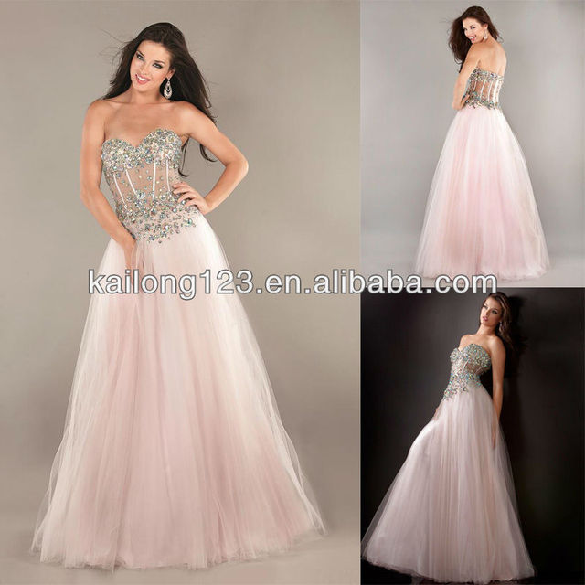 Prom Dresses With Corset Top - Long Sexy Prom Dresses