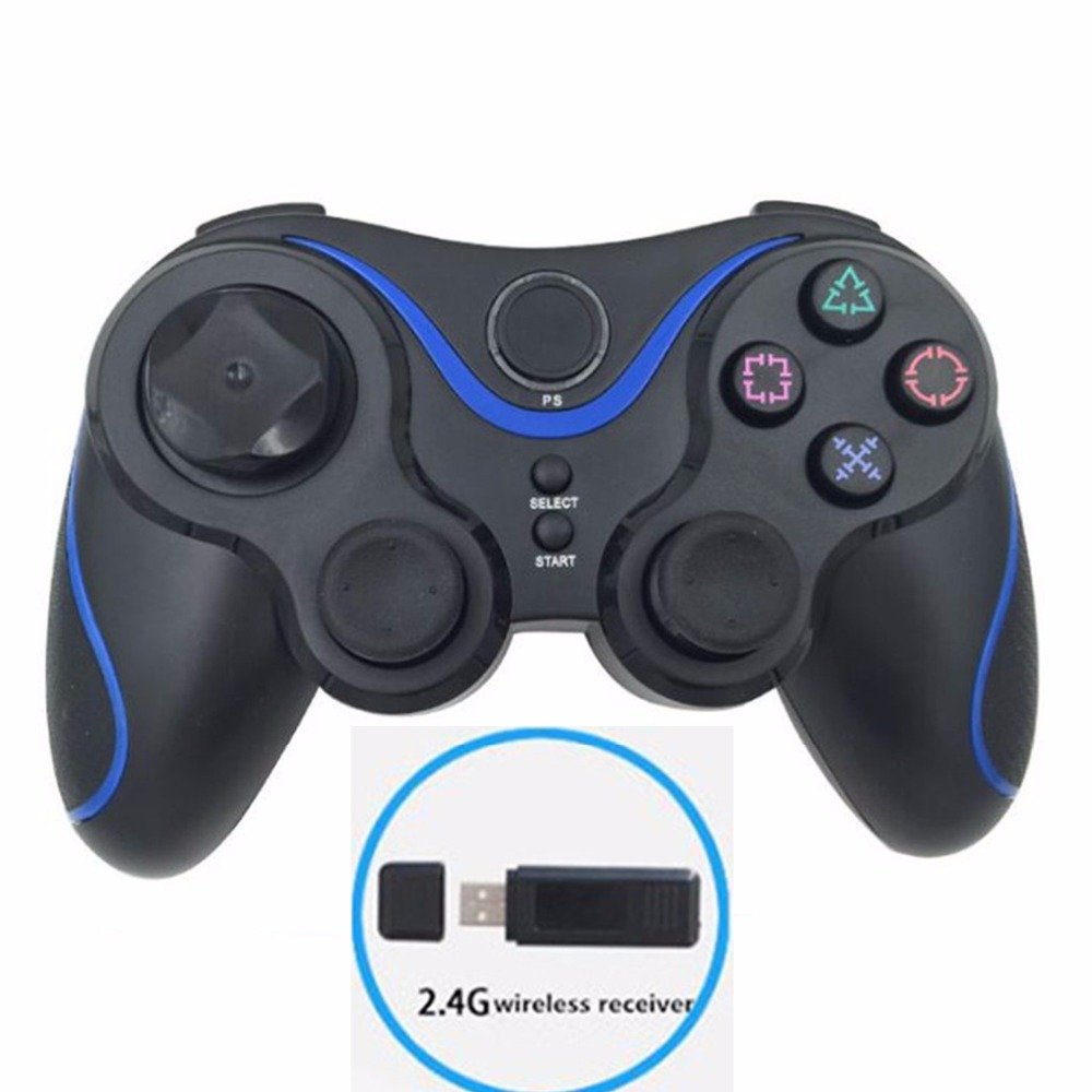 2.4g wireless game controller gamepad joystick for ps3 controller wireless dualshock 3 playstation video gaming for pc windows(China (Mainland))
