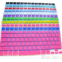 11 Colors Silicone Keyboard Cover Skin for Apple Macbook Pro MAC 13 15 17 Air 13 01KU