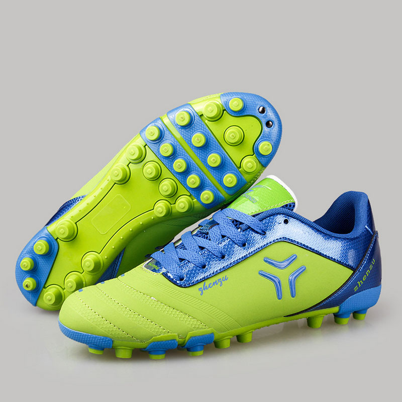 High Quality 2016 Professional Soccer Shoes Teenager Men Women Authentic Shoes Super Light Weight Football Shoes Size 35-44(China (Mainland))