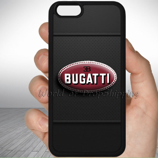 bugatti logo Custom phone Case for iPhone 6 4s 5s 5c 6 Plus touch 4 5 for galaxy s2 s3 s4 s5 mini Note 2 3 4 S6/S6edge/Note5(China (Mainland))