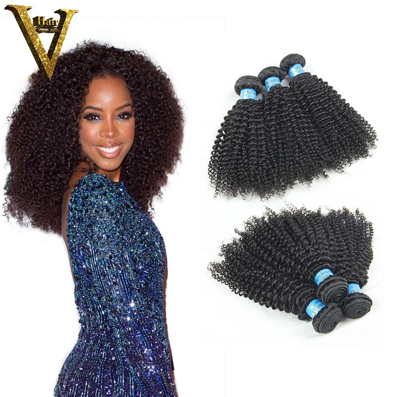 7A Mongolian Kinky Curly Hair 3pcs Afro Kinky Curly Virgin Hair Queen Hair Products Afro Kinky Curly Human Hair Weaves<br><br>Aliexpress