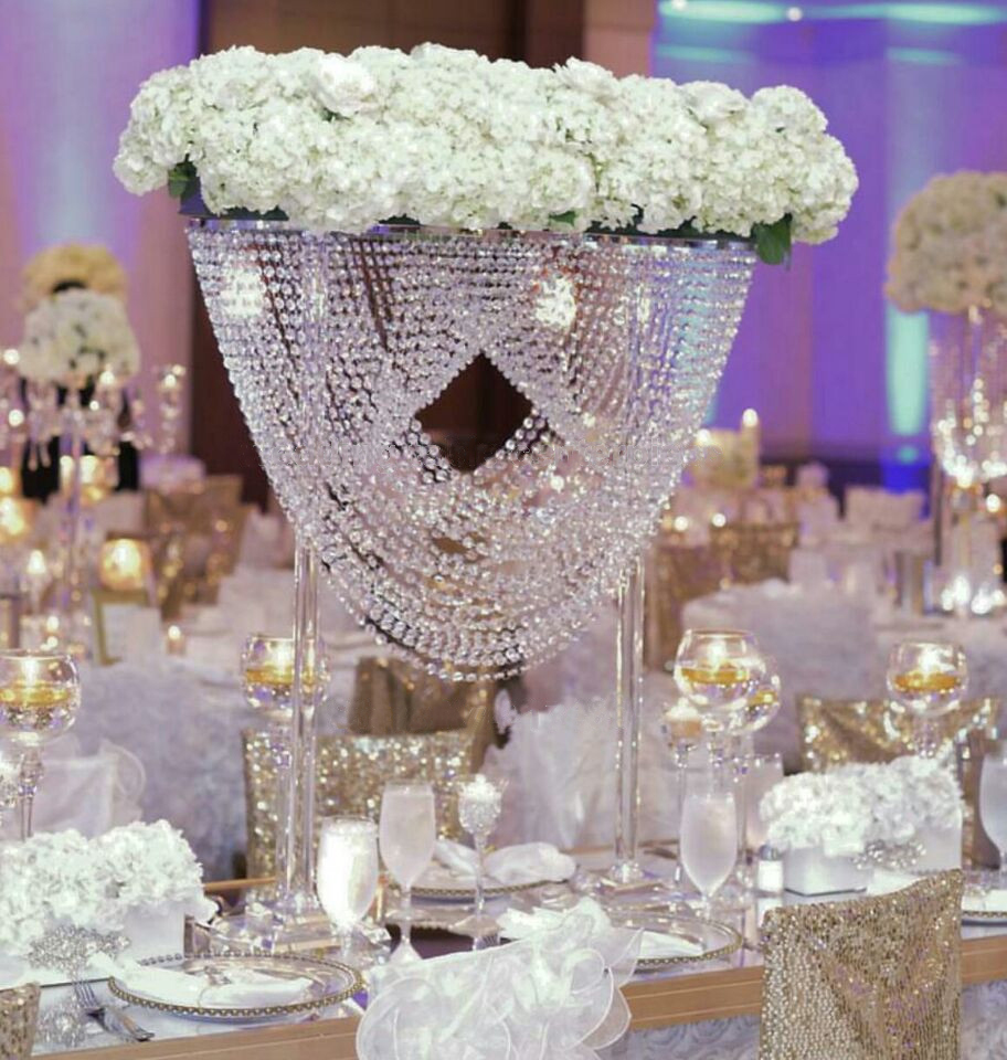 Popular wedding chandelier centerpieces buy cheap wedding for Buy wedding centerpieces