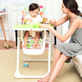 Multifunctional Folding Baby Dining Chair Stable Steel Support Baby High Chair Dinner Lunch Baby Feeding Chair