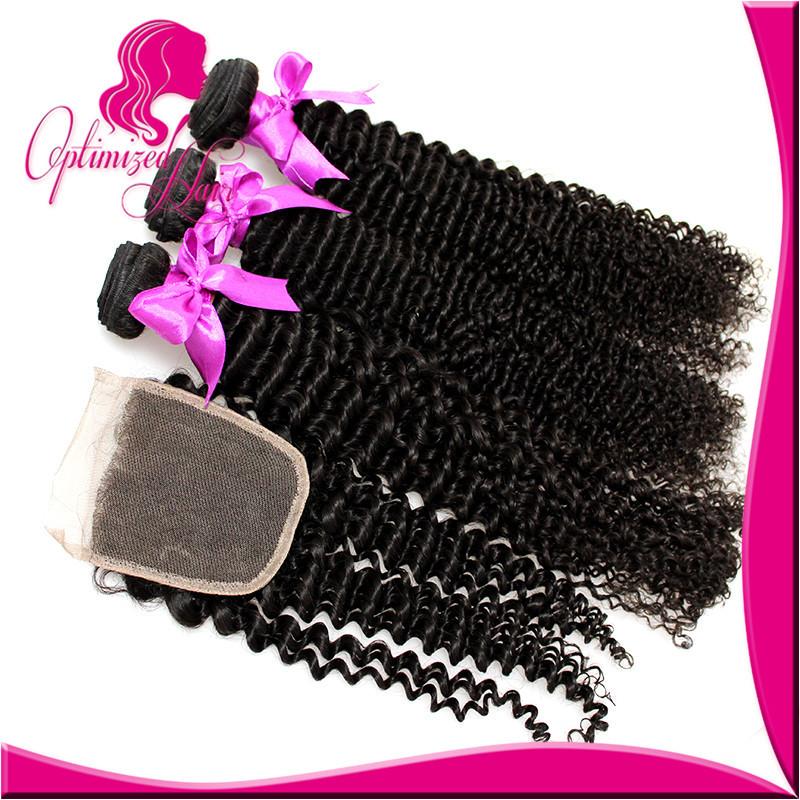 Гаджет  8A virgin Malaysian deep wave with closure modern show hair brizilian virgin hair with closure brazilian 3 bundles and closure None Волосы и аксессуары