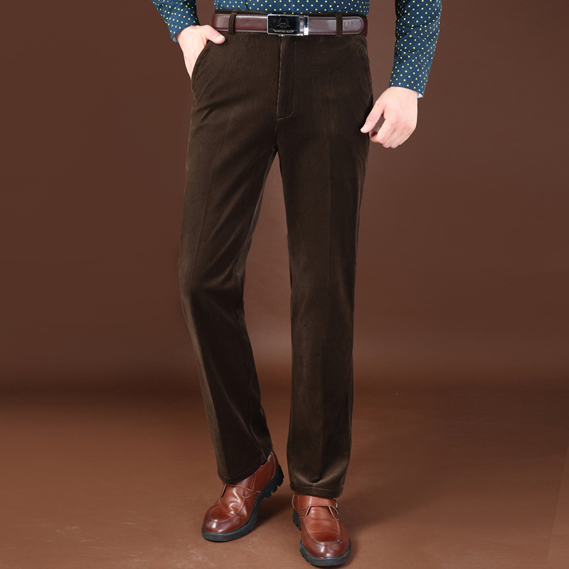 Brown Corduroy Pants Men