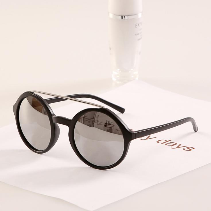 Best Metal Frame Glasses : Round Frame Sun Glasses Women Men Fashion Top Metal Leg ...