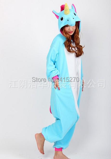 Trajes De Baño Unicornio Azul:Unicorn Mascot Costume