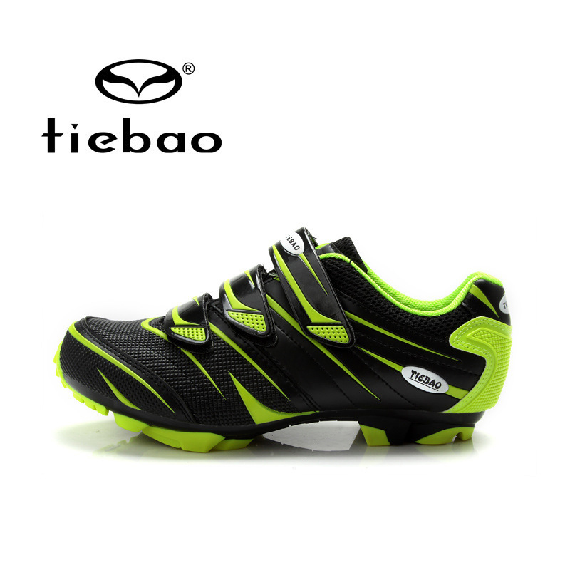 TIEBAO Professional Men Women MTB Mountain Bike Self-Locking Shoes Bicycle Cycling Nylon-fibreglass Sole Athletic - Top-touch Technology Co.,Ltd store