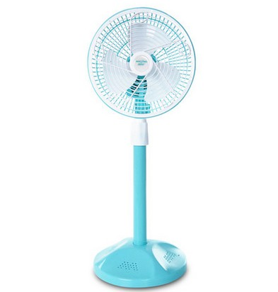 Blue 220V 20W MSE588T Second Gear Stand Fan ABS material Energy saving Electric Fan 22x12x27cm(China (Mainland))