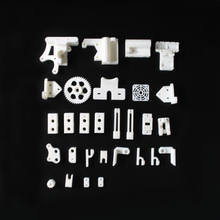 Prusa Mendel i3 PLA plastic Parts Kit DIY Prusa i3 Acrylic frame 3D Printer printed parts