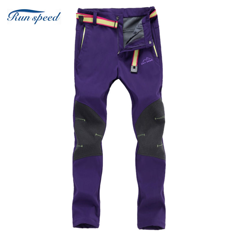 Outdoor Hiking Pants Women Quick Dry Pantaloni Montura Invernale Breathable Uv Protection Trousers For Camping Hiking WCK017