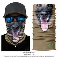 Высокоэластичные бесшовные бандана 3D шарфы с черепом бандана лицо труба шеи защитная решетка волшебное человеческое лицо борода Jokers банда...(China)