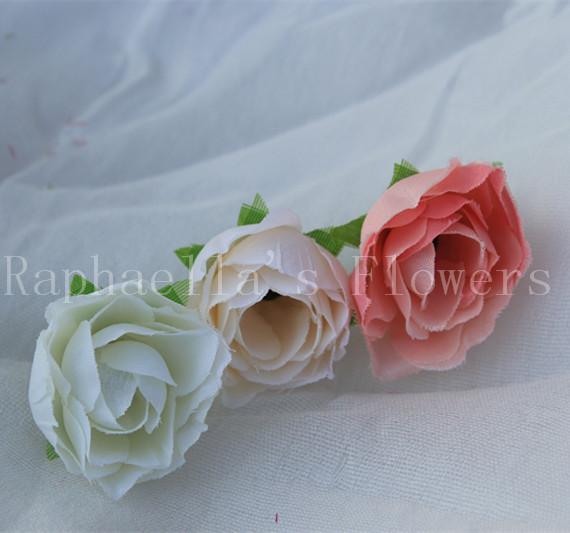 High Quality (50 pieces/lot) Small Tea Bud Artificial Flower Wedding Decoration Material Flower Rose Buds Head Bulk Sale(China (Mainland))