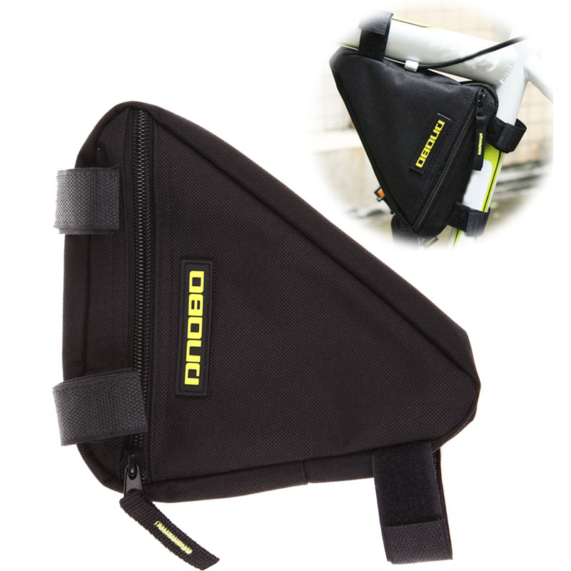 2016 Hot Selling Tri Cycling Bike Bicycle Front Tube Frame Pouch Bag Holder Saddle Free Shipping<br><br>Aliexpress