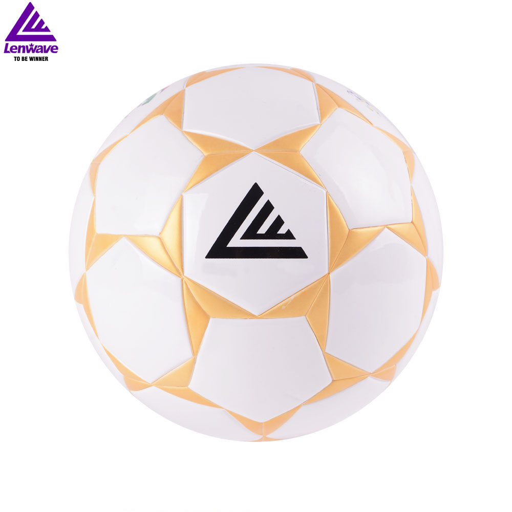 Soccer /Football &High Quality 100% PU Soccer Ball Champions League Football * Size 5 Official Match Ball(China (Mainland))