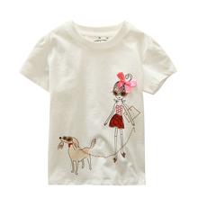18 Months-6T Three Style Baby Boys Girls T-Shirt Summer Children's Clothing Kids Tops 100% Cotton Cartoon Boy Girl T Shirt