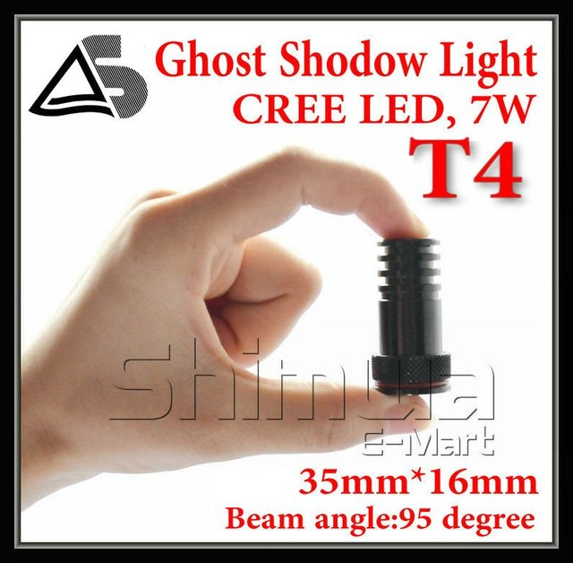 7W door light for many LOGO projector ghost shadow light/ LED car welcome lights/ laser lamp and Support custom any LOGO