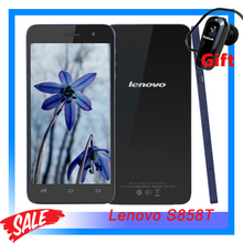 "Original Lenovo S858T 5.0"" Android 4.4 Smartphone MT6592M Octa Core 1.4GHz ROM 8GB+RAM 1GB Support Bluetooth WiFi GPS GSM"