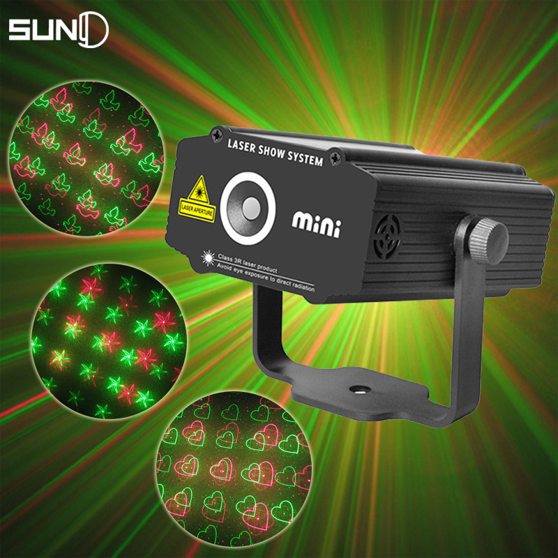 Mini Home Party Disco Laser Lights For SaleRed Green dj light scanner Professional Luces Discoteca Laser Club Lighting Effect(China (Mainland))