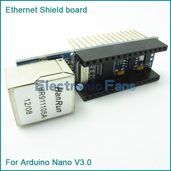 Mini enc j webserver module ethernet shield board for