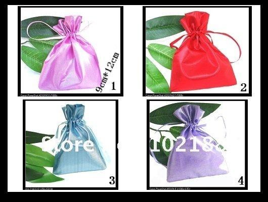 !Affordable jewelry bags, drawstring bag 9cm * 12CM MOQ20 - Ningguo Stylish Convertible Gift Packaging Plant store