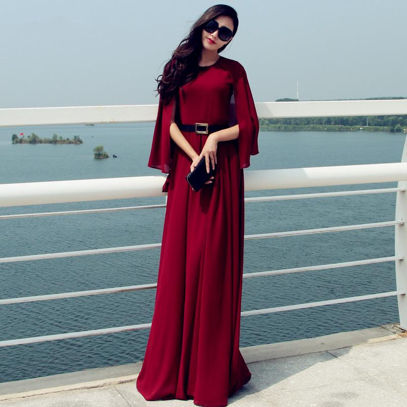 Maxi dress plus size 6xl summer style long maxi vintage for Plus size maxi dresses for summer wedding