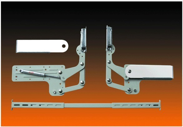 Furniture hardware hydraulic ambry door hinge