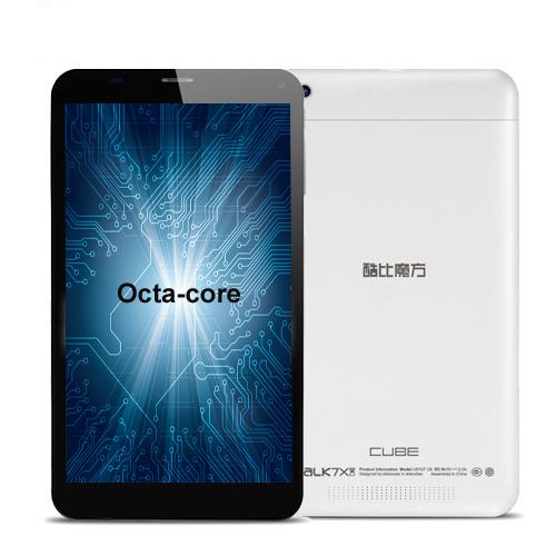 Cube Talk 7X U51GT C8 Octa Core MT8392 2 0GHz 7 Inch 1024X600 1GB RAM 8GB