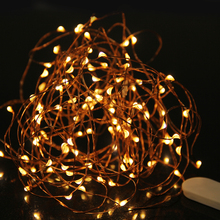 3M Copper Wire LED String Waterproof Fairy Light Outdoor Holiday Light For Party Christmas Wedding Decoration With Battery(China (Mainland))