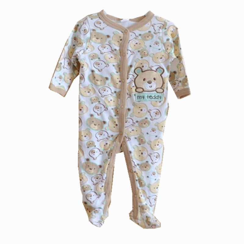 Summer Style 2015 Fashion Baby Rompers Costume 100%Cotton Padded Bebe Jumpsuit 0-9M Clothing Carters Baby Boy Girls Clothes LP03(China (Mainland))