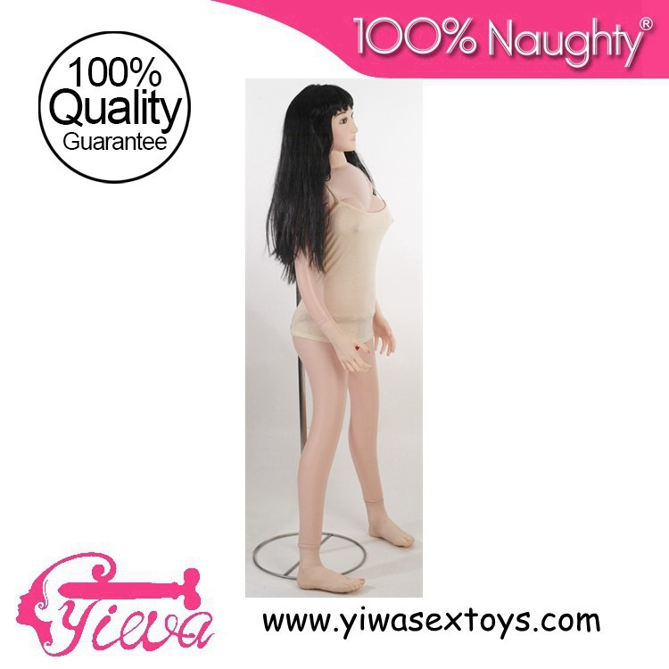 Japanese girl standing posture half entity inflatable sex dolls male masturbation oral sex toy silicone pussy anal sex love doll<br><br>Aliexpress