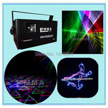 Discount promotion 1.2w full color stage laser lighting dj party light laser projector(China (Mainland))
