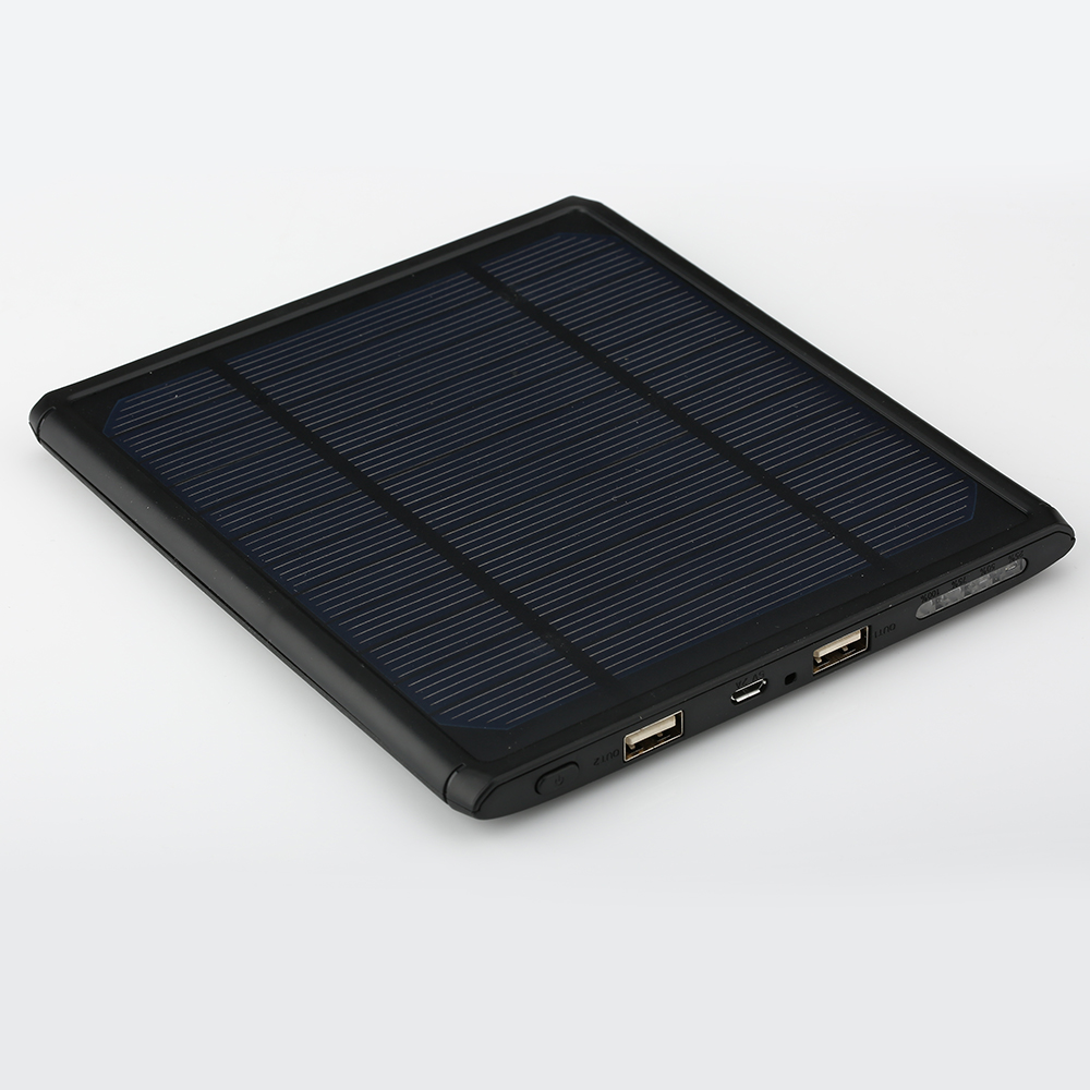 16000mAh Solar Power Bank 2 USB Backup Powers Powerbank Portable solar Charger Universal External Battery Pack for Mobile Phones(China (Mainland))