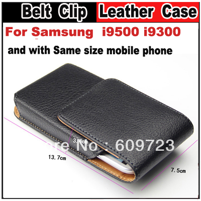 Anti-theft Belt Clip Litchi grain Leather case For Samsung s3 S4 HTC M7 blackberry Z10 SONY LT26I L36H S36H Nokia 925(China (Mainland))