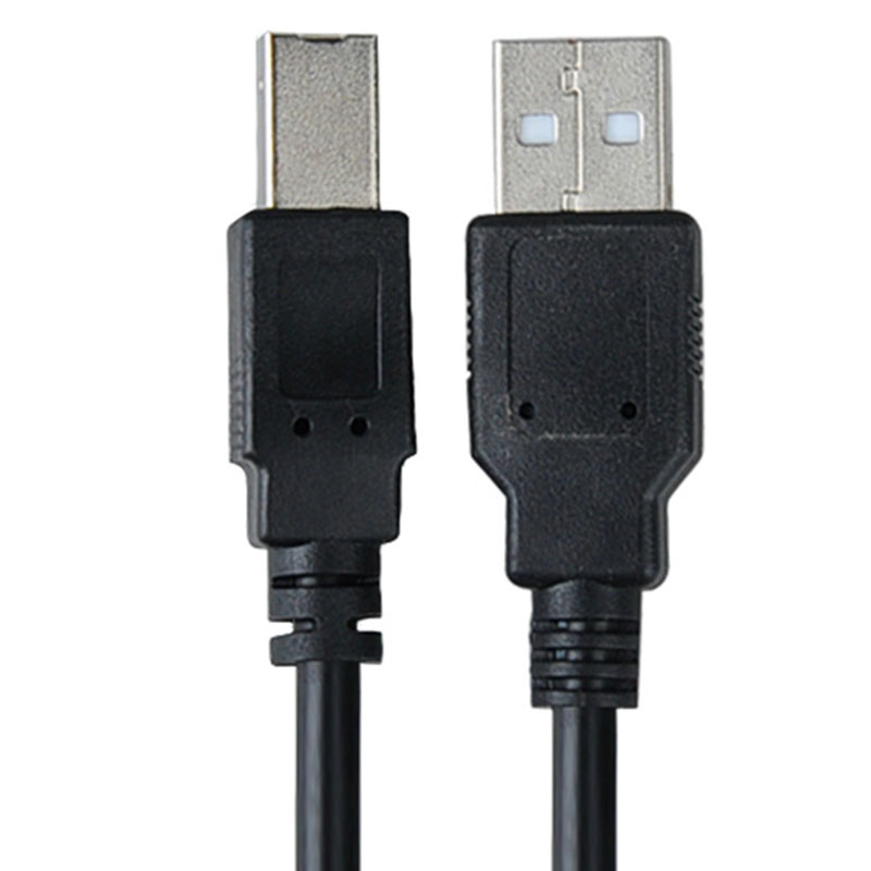 10 FT USB 2.0 A-B Male Cable Printer Scanner for Dell Lexmark Brother Black(China (Mainland))