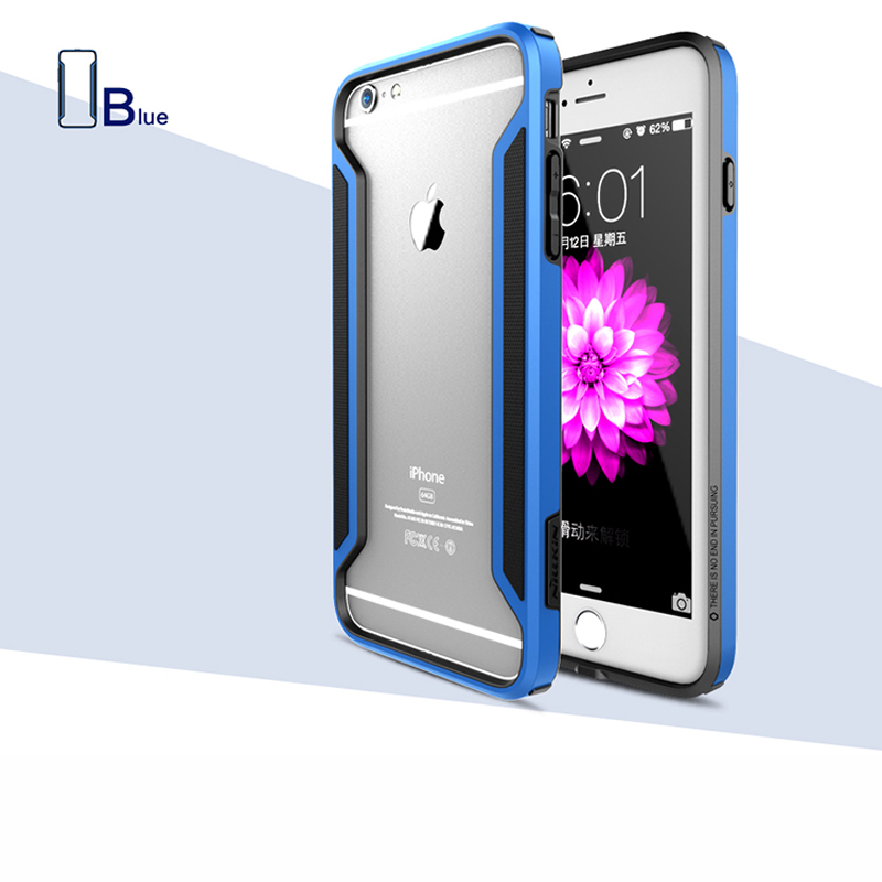 """NILLKIN Outlets Armor Border Series Frame Shockproof Bumper Case For Apple Iphone 6 Plus 5.5"""" Protect and Anti-knock(China (Mainland))"""