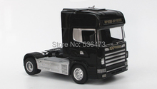 RC Truck 1:18 4 CH container heavy truck with lights and sounds,big size gifts for children(China (Mainland))