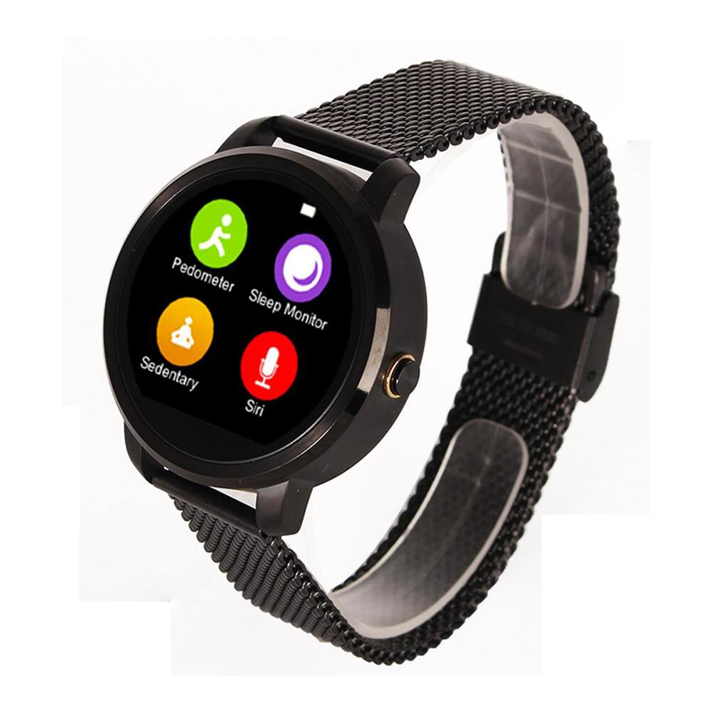Smart Bluetooth V360 Watch Smartwatch with Barometer Alitmeter Music Player Pedometer for Android IOS Mobile Phone Hebrew Korean(China (Mainland))