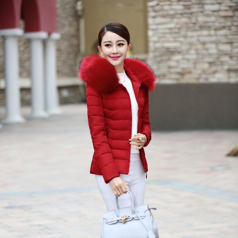 Скидки на Зима теплая с длинным рукавом карман стиль для женщин в негодность Paraks женщина леди свободного покроя одежда классическая мода новый