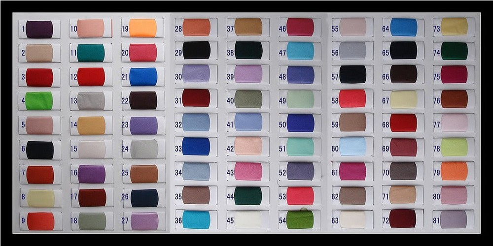 clear color chart