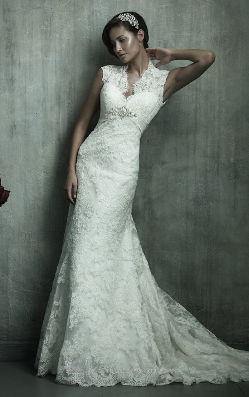 Country western wedding dresses 2014 hot sales sexy for Lace back mermaid wedding dress