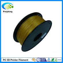 Brown 1.75MM/3MM PC(Polycarbonate) Filament For MakerBot/Mendel 3D Printer 1KG/piece Rubber Material