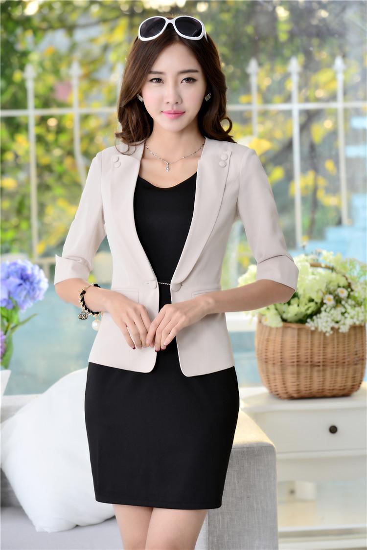 Blazer for women with dress