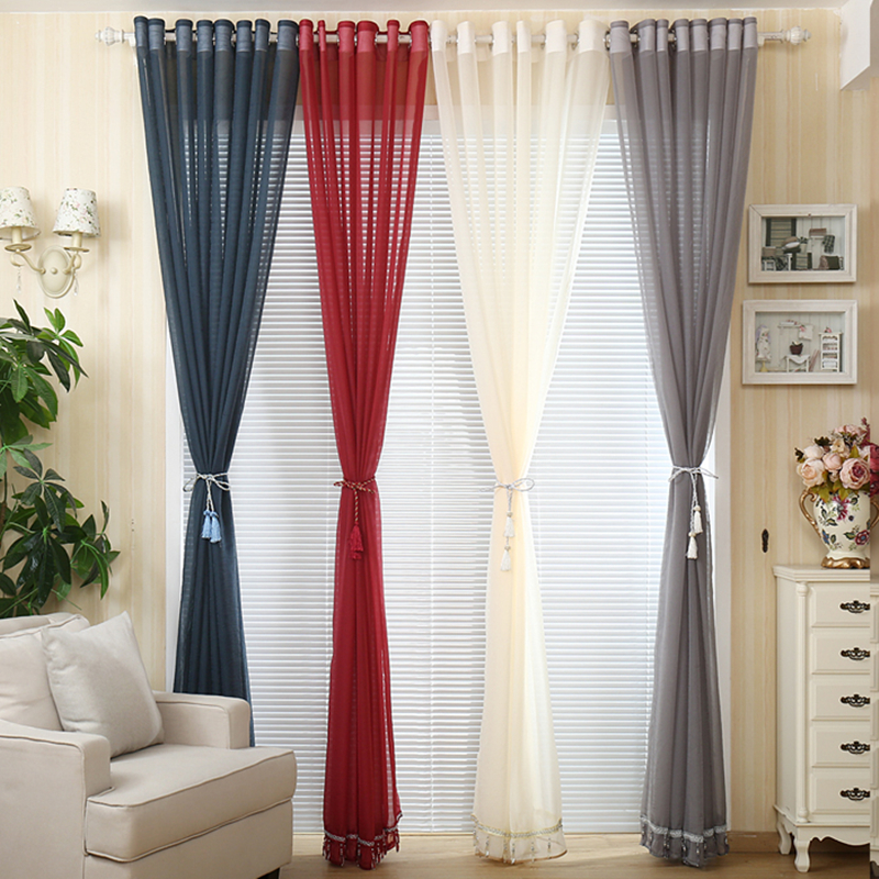popular beige curtains buy cheap beige curtains lots from china beige curtains suppliers on. Black Bedroom Furniture Sets. Home Design Ideas