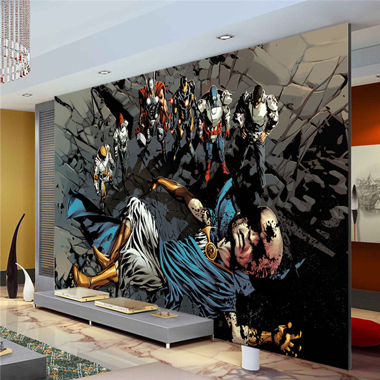 superhero wallpaper for bedroom galleryhip com the fotobehang posterbehang kinderkamer behang the avengers