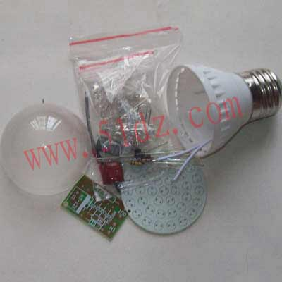 Small grain 24 energy-saving lamp kit parts production of electronic DIY entry process practice training curriculum design.(China (Mainland))