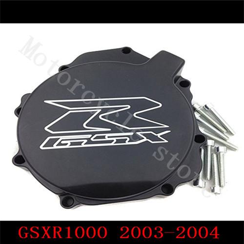 Fir for Suzuki GSXR1000 GSXR 1000 2003 2004 Engine Stator cover Black left side K3(China (Mainland))