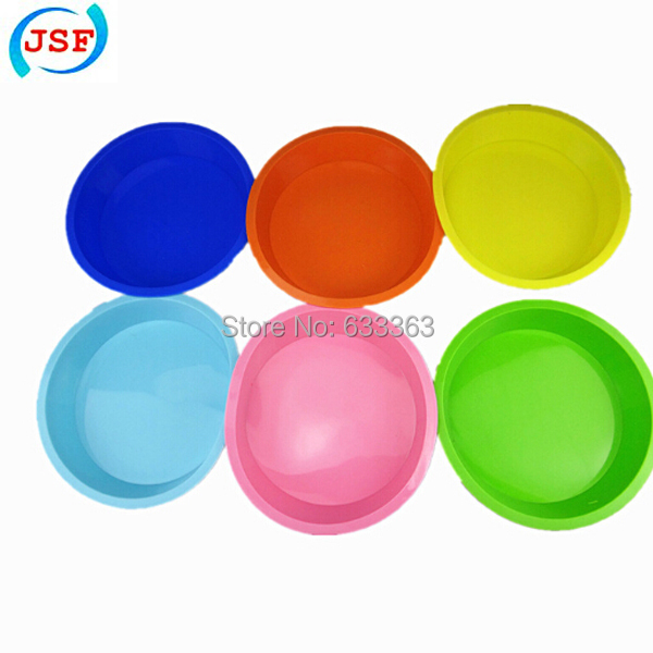 Colorful FDA Silicone Round Small 6.6 inch Cake Pan Pizza Pan, JSF-A1043(China (Mainland))