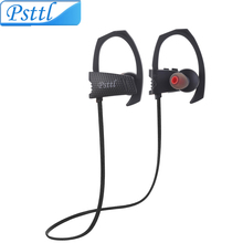 Psttl 24g Sweatproof Wireless Bluetooth Earphone in ear Sport Stereo headset handfree with Microphone for phone computer outdoor(China (Mainland))